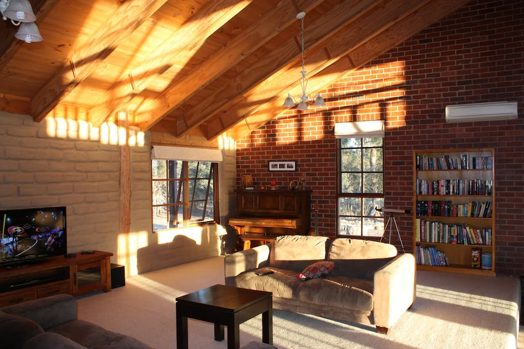 Love the afternoon sun that comes into our rumpus room.