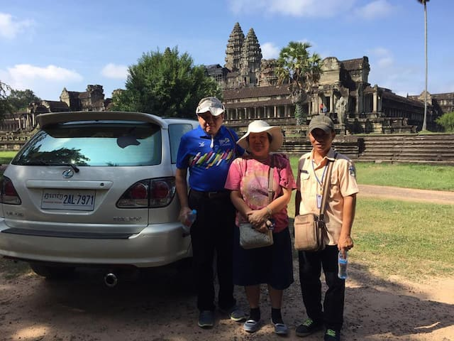 Hak's Tours -Angkor Taxi Driver & Private Day Tour