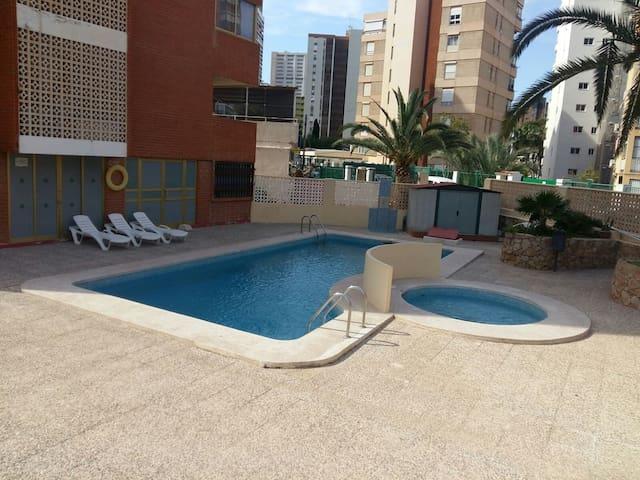 Apartamento Benidorm,playa Levante,Rincón de Loix.