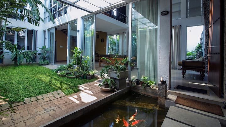 Gedara - Town House with Modern Sri Lankan decor