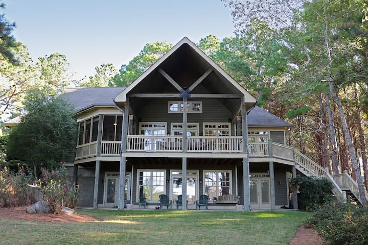 BOOK FOR MASTERS NOW AT PRE MASTERS PRICES! Stunning Lake Oconee Cuscowilla Golf and Lake Resort Hom