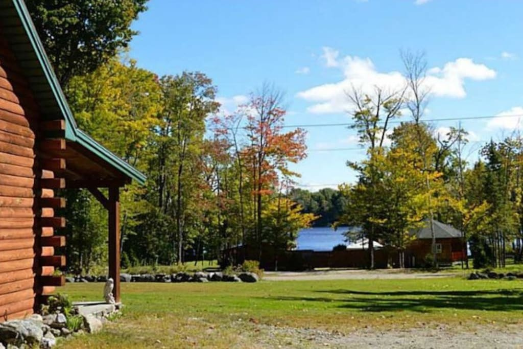 Loon Lodge~ views from front porch
