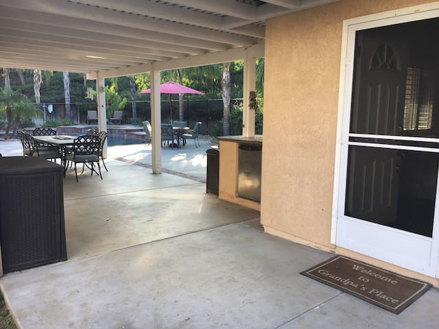 Wine country Casita with pool - Temecula - Wohnung