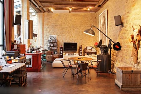 Charm & romance / Typical parisian Loft -LE MARAIS - Paris