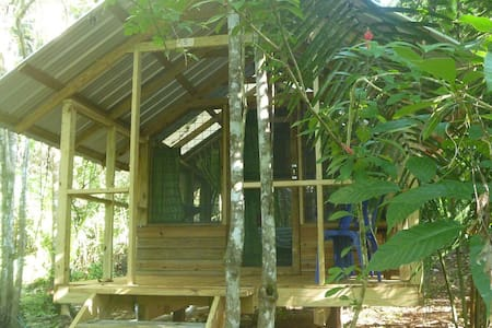 Moonracer Farm:  Cohune Camping Casita Room 5 - San Ignacio - Cabaña