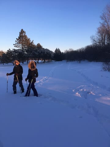 Bring your snow shoes and cross-country skis