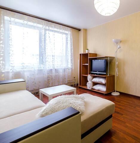 Однокомнатная квартира недалеко от Кремля