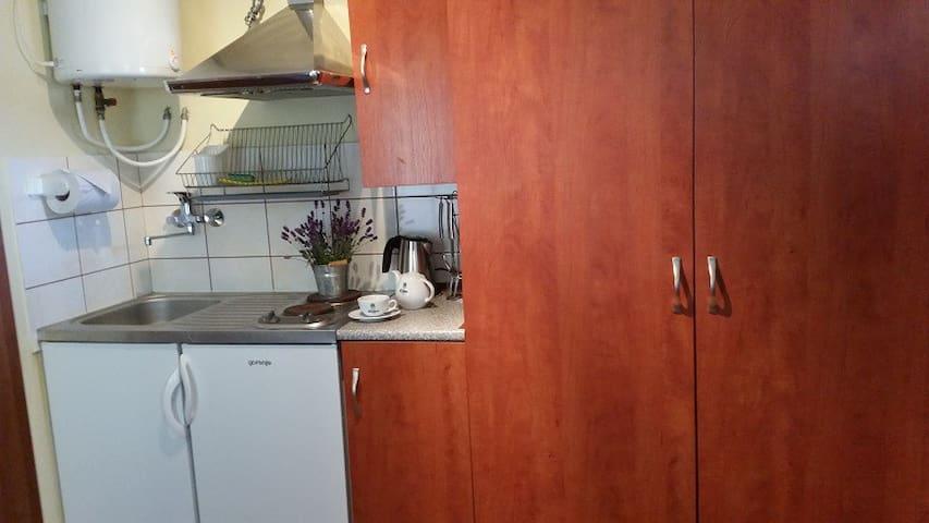 DOMEK STUDIO z aneksem kuchennym - Dąbki - Lägenhet