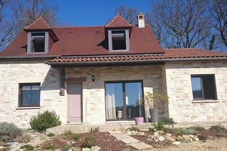Maison perigourdine neuve piscine - marnac  - Casa