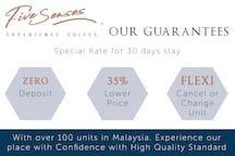 Quick Rent, RM99/N at Dorsett 5 Senses