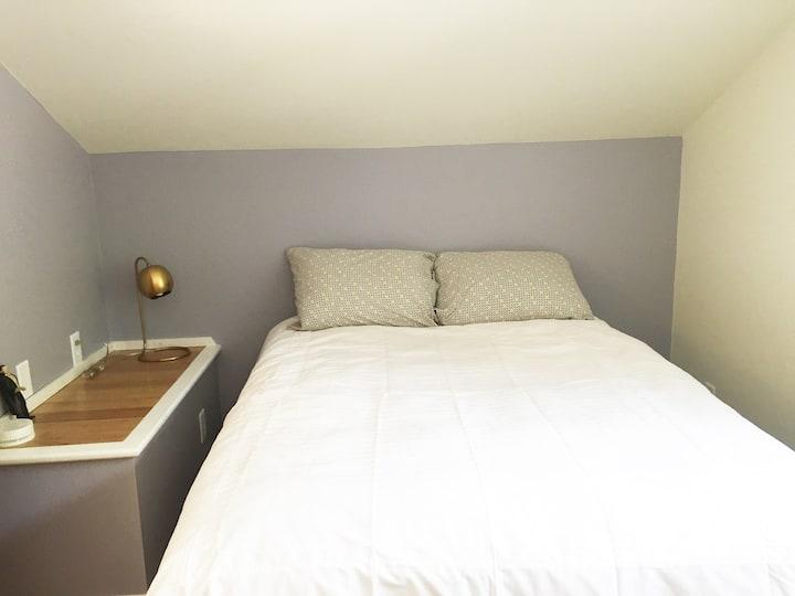 Scandinavian themed bedroom in One Curious Hauz