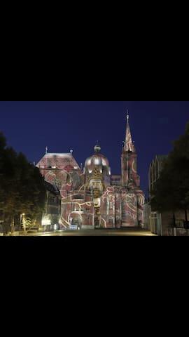 Gemütliche Wohnung zum Entspannen - Aachen - Daire
