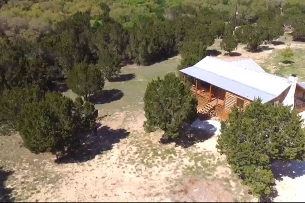 A secluded location in the beautiful Texas Hill Country.