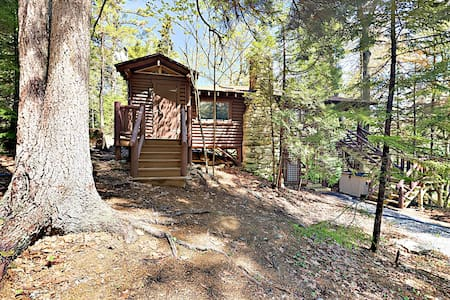 Vintage Sprucewold Cabin with Forest Views