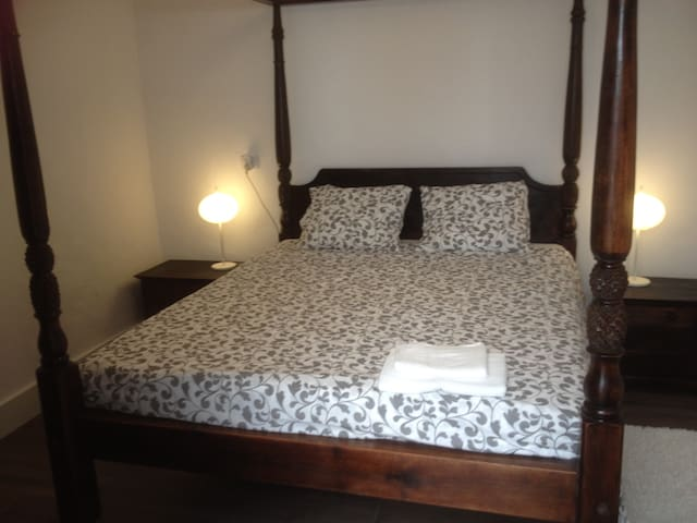 Bedroom 2: large comfortable double bed and large closeet
