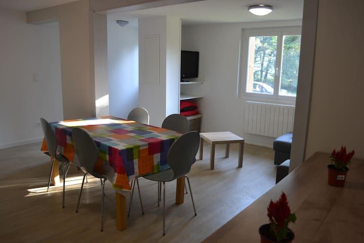 Appartement dans une maison de campagne - Beaucens - Dom
