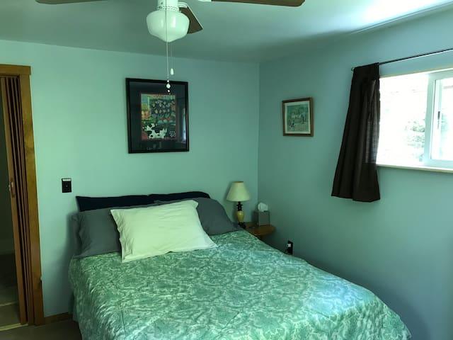 Quiet cozy lodging in rural area.