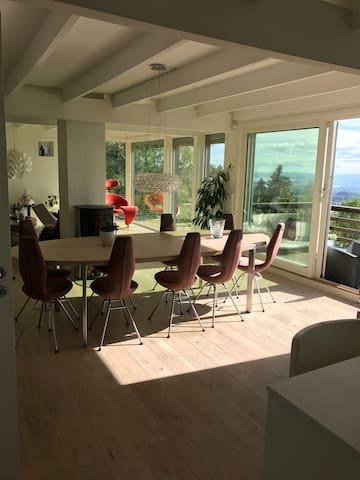 Close to city, nature, Holmenkollen and the metro!
