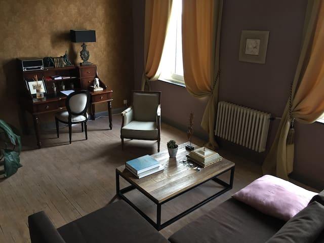 Cozy apartment in an Art Deco building - Antverpy - Byt