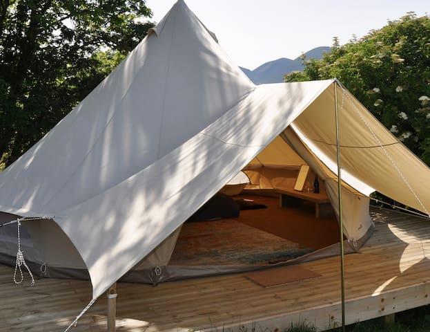 An Creagan Eco Bell Tent, Skye