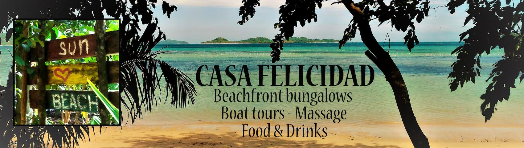 Casa felicidad beach cottages - El Nido - Appartement