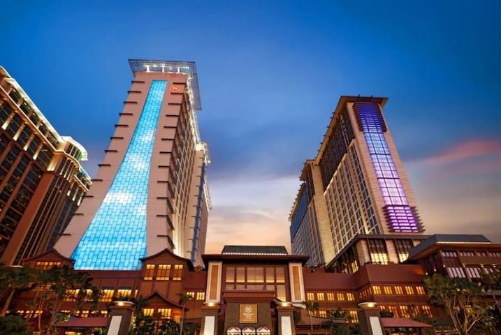 澳门喜来豋酒店/双床  Sheraton Macau Hotel/Twin Beds