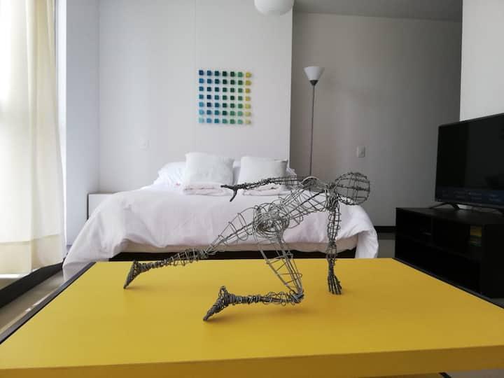 Confortable apartaestudio nuevo  - Cozy new studio