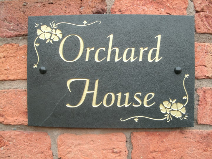 Orchard House comfort, mod cons and relaxation.