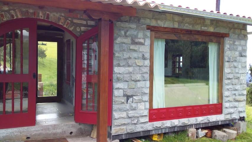 Casa campo Pasochoa con la mejor vista al Cotopaxi
