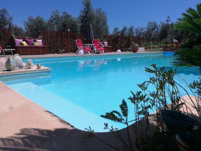"""Villa EB, camera privata """"Etnica"""" con bagno privat"""