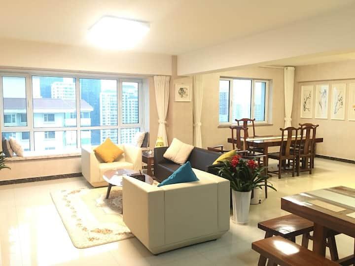 156平28层小米智能河景豪华整套行政公寓可当作办公室民宿聚会