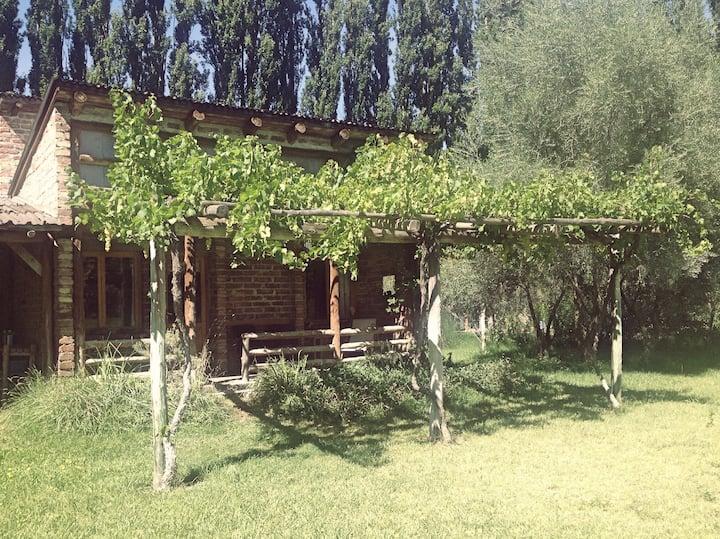 La Clarita, Puente de Palos, casa de descanso.