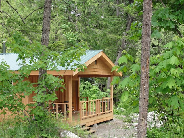 Rivers Edge Cabins - Nahatlatch  - กระท่อม