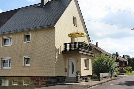 Cushy Holiday Home Liebenscheid with Balcony and Garden