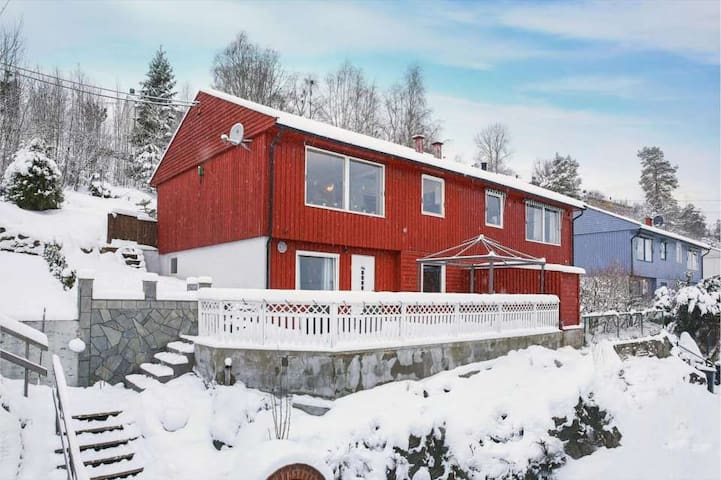 Private room in a lovely house 30min from Oslo - Vestby - Casa