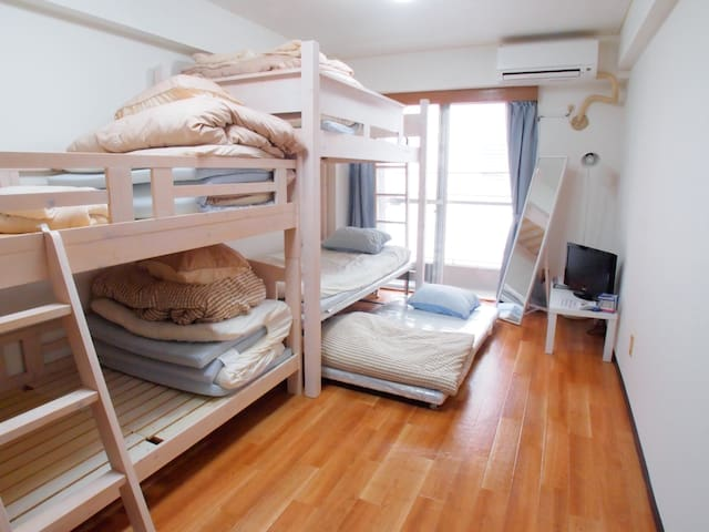 Family 5people 2 mins from Ikebukuro Sta(C1) Wifi