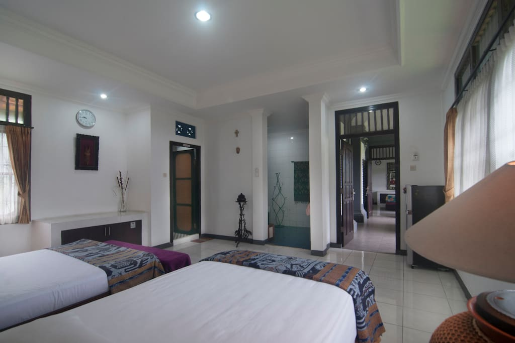 Clean and spacious bedroom