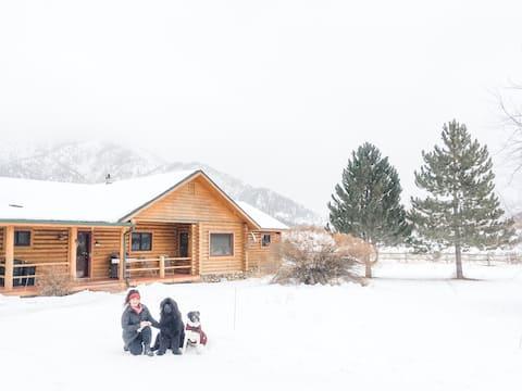 Alpine Airport Life - 46U Airport+ Lake+Mountains
