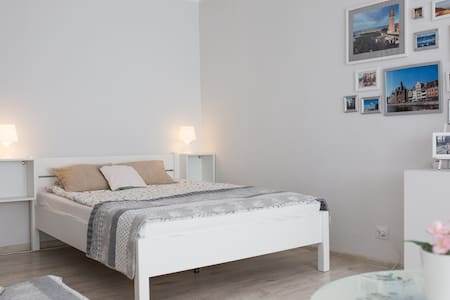 Studio for 2 in Gdansk close to the airport