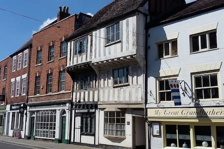 Ancient house, heart of Tewkesbury, near Abbey - Tewkesbury - Huis