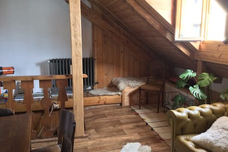 Ancien Hotel, Appartement 8pers. - Saint-Dalmas-le-Selvage