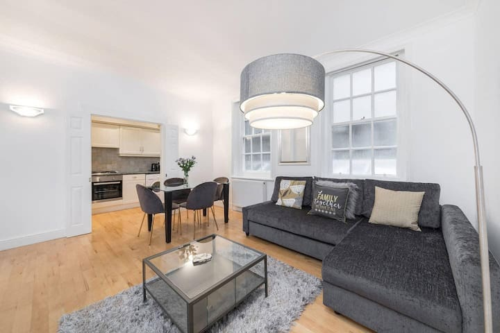 Beautiful one bedroom apartment in central London close to Oxford Street