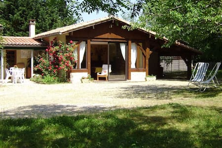 Charme, calme et sérénité - Saint-Martin-de-Gurson - Naturstuga