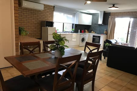 Unbelievably nice and reasonably priced apartment.