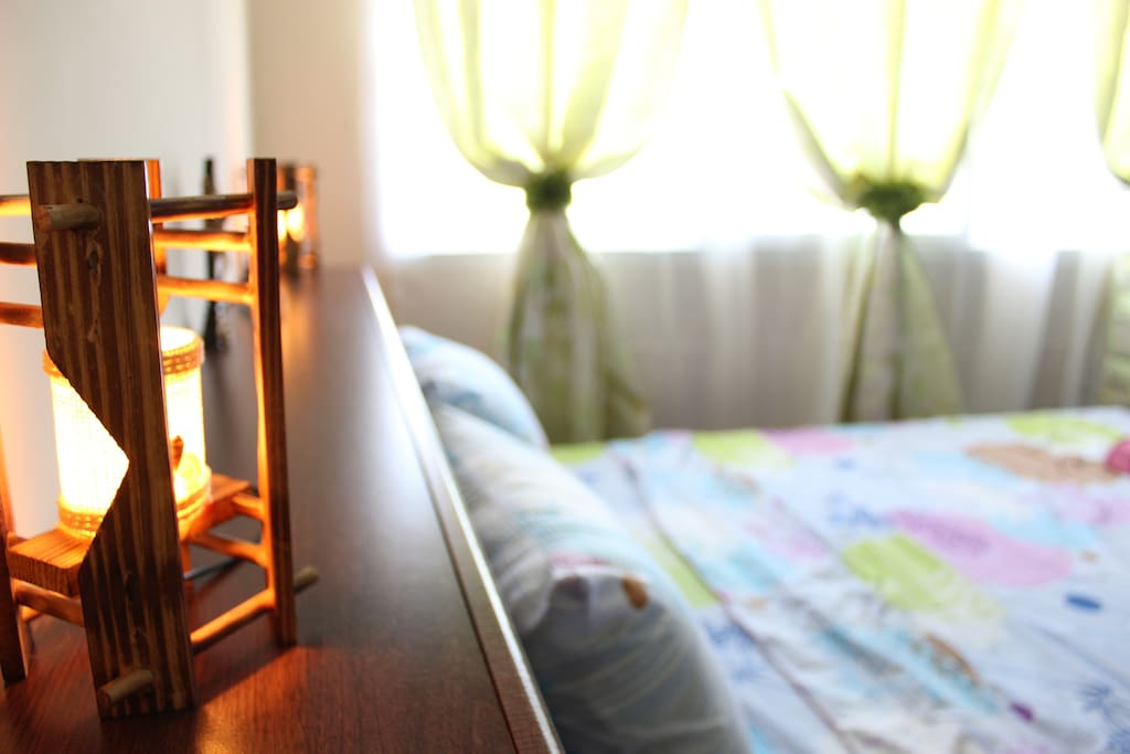 Native bamboo lamps for dim lights