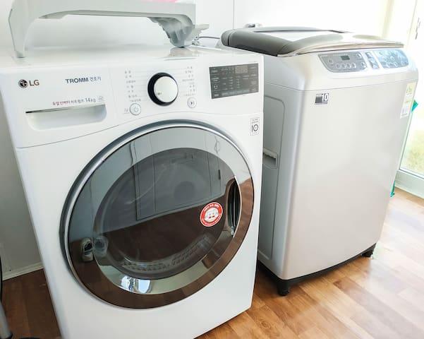 세탁기, 건조기