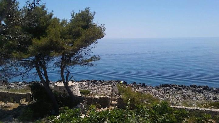 Salento villa con vista panoramica sul mare