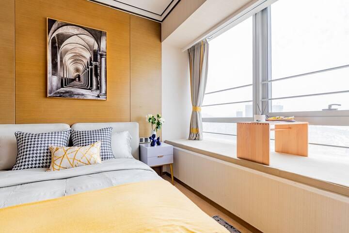 【路客】限时低价出租 |【小时光】高端一居公寓尽享慵懒空间丨横琴金融中心丨海洋王国丨横琴口岸