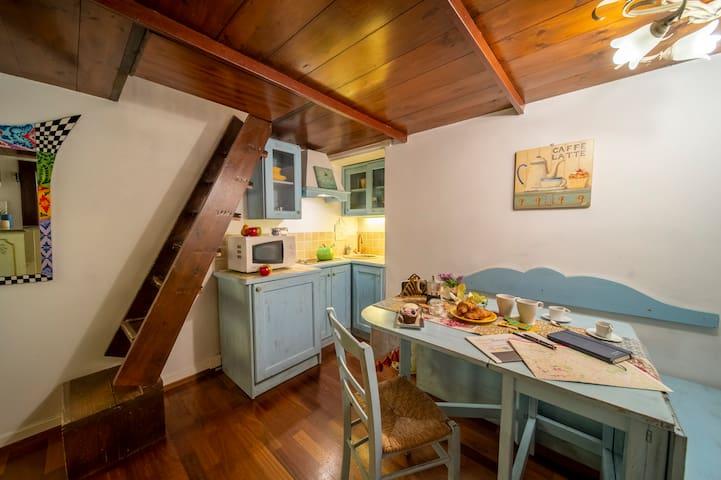 Wonderful Romantic Studio Ponte Vecchio Area