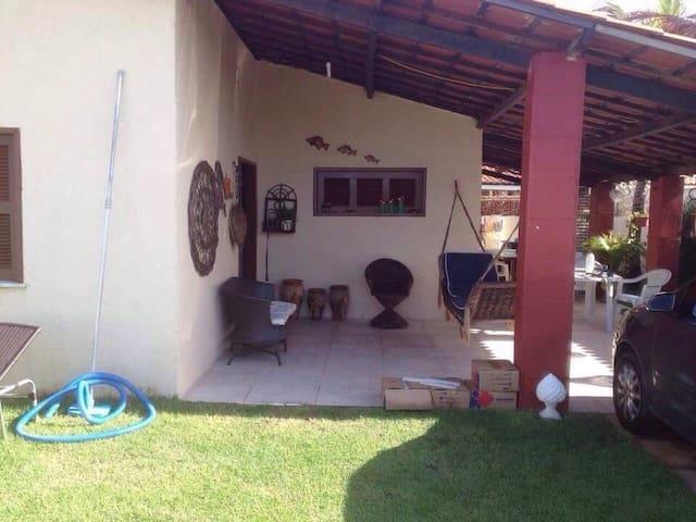 Casa de praia em morro branco - Fortaleza
